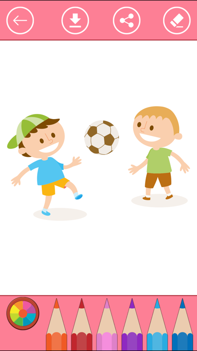 Soccer Coloring Book for Children: Learn to color