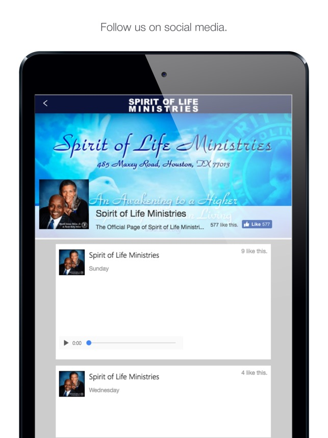 Spirit of Life Ministries on the App Store