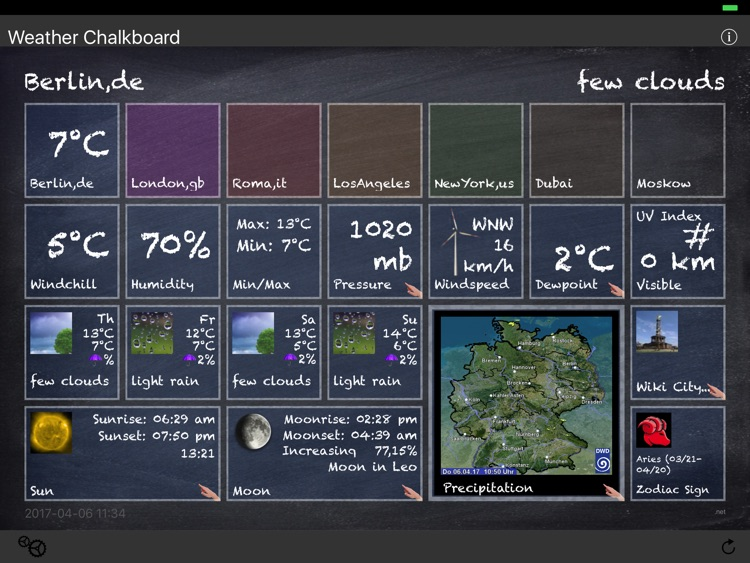 Weather Chalkboard screenshot-0