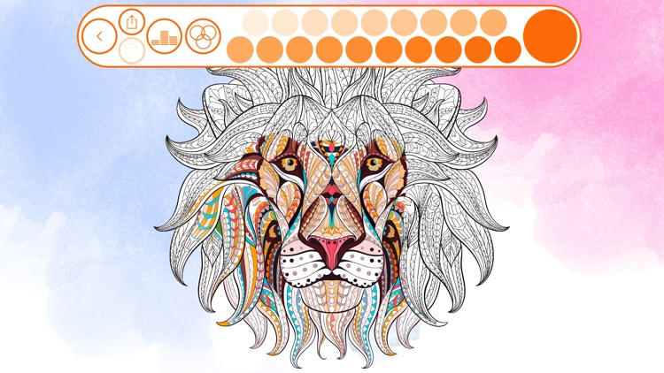 Colouring Line: Coloring Book for Adults and Kids