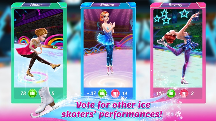 Ice Skating Ballerina screenshot-4