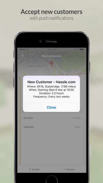 Hassle.com for Cleaners