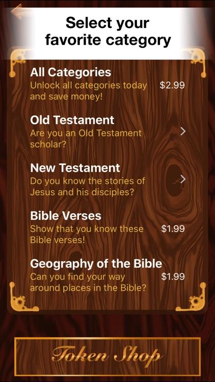 Bible Challenge Quiz