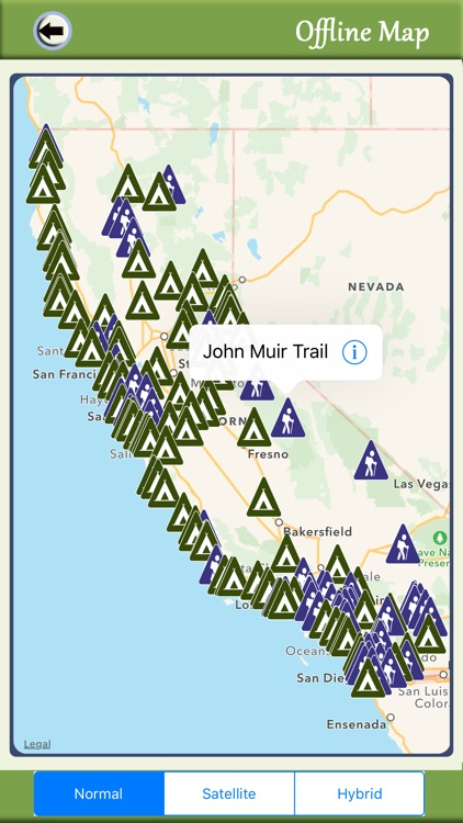 California Camping & Hiking Trails,State Parks screenshot-4