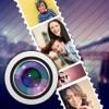 写真に単語を追加 - タッチアップエディタ&コラージュを作成します。 - iPhoneアプリ