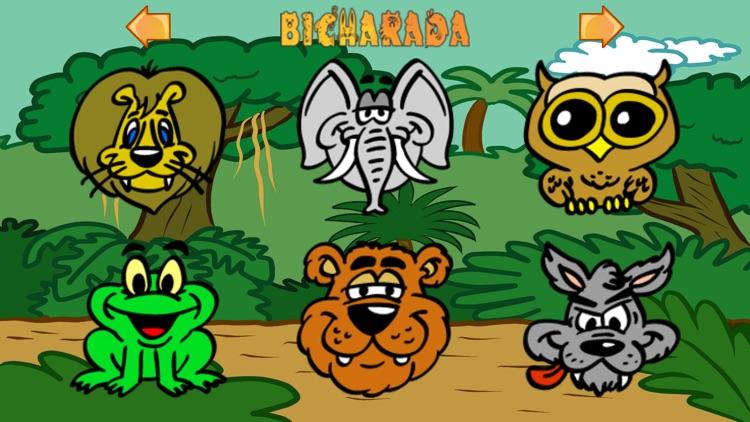 Bicharada: Animal Sound game for kids screenshot-3