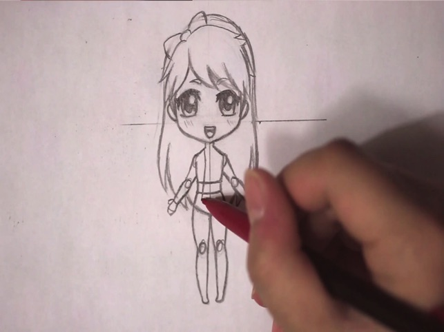 How To Draw Anime Manga Drawing Step By Step On The App Store