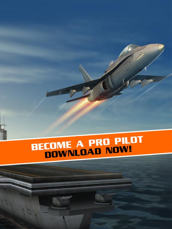 Скачать игру Полет Пилот - симулятор самолета игры 3D