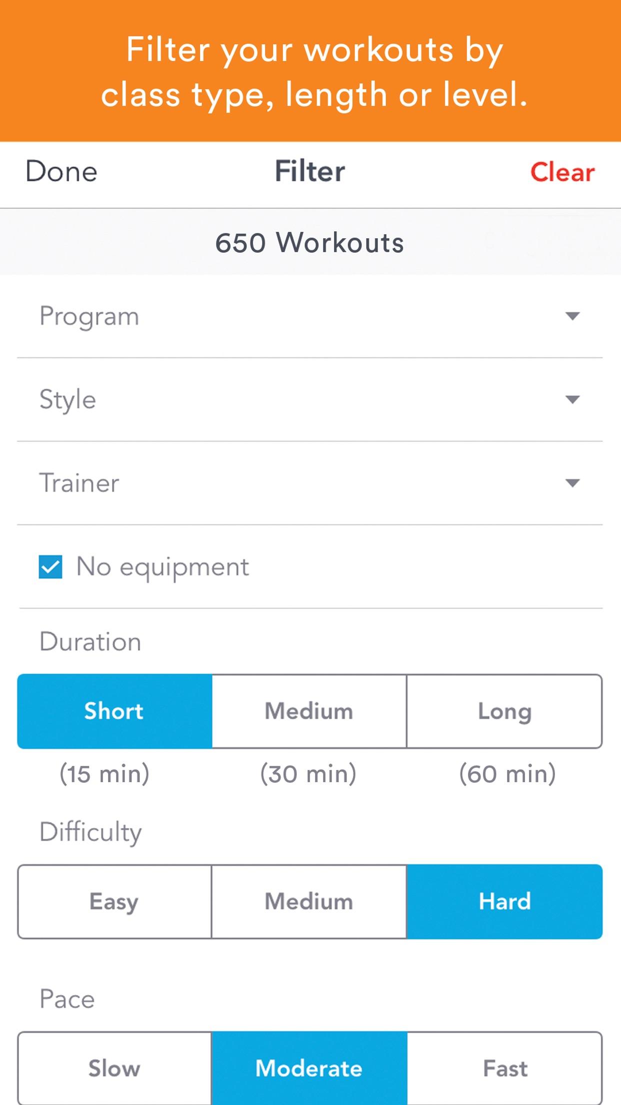 Daily Burn - Video Workouts Screenshot