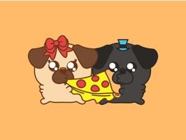 Pug & Puga Domoji