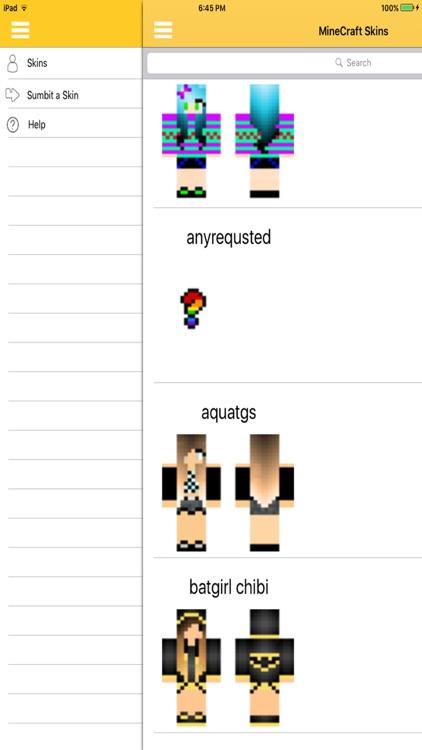 GirlSkins - for MineCraft PE
