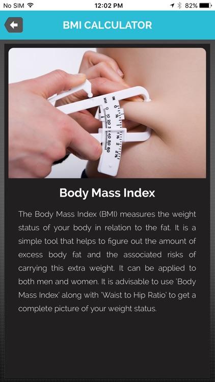 BMI Calculator - (Body Mass Index) screenshot-3