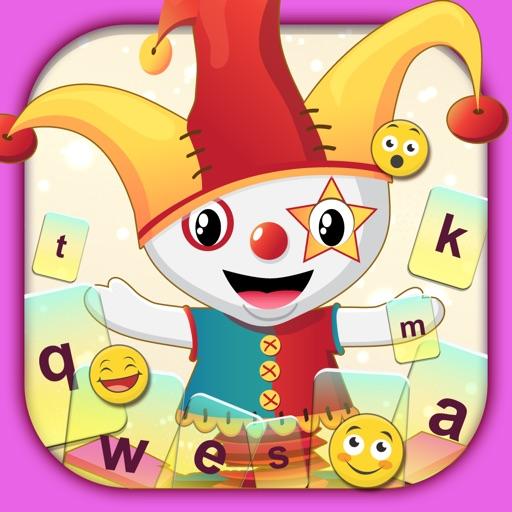 Cute Cartoon Color Keyboard Themes Emoji & Layout iOS App