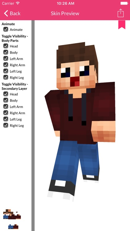 Baby Skin For Minecraft Edition