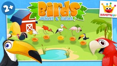鳥類: 知育 ぱずる 子供のためのパズルとカラーのおすすめ画像1
