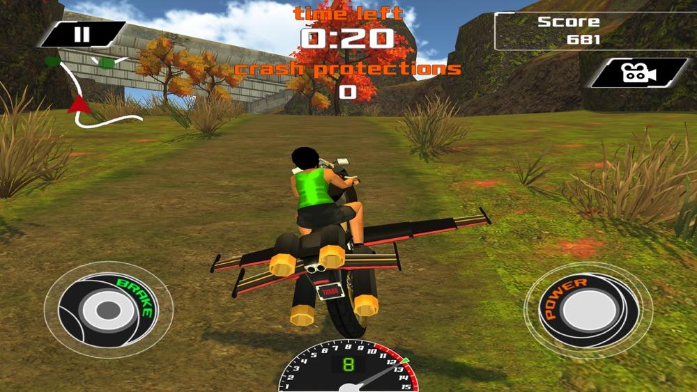 Flying Motorcycle Racing Simulator Cheat Codes