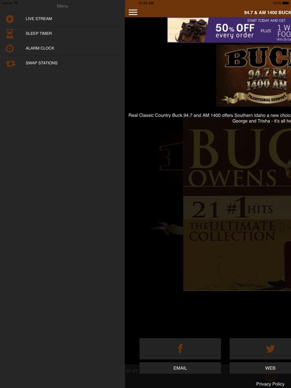 94.7 & AM 1400 Buck FM-ipad-1