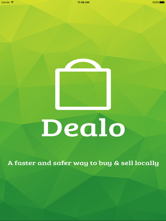 Dealo - A faster and safer way to buy & sell locally screenshot