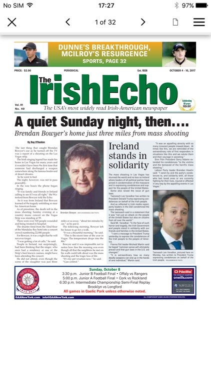 Irish Echo