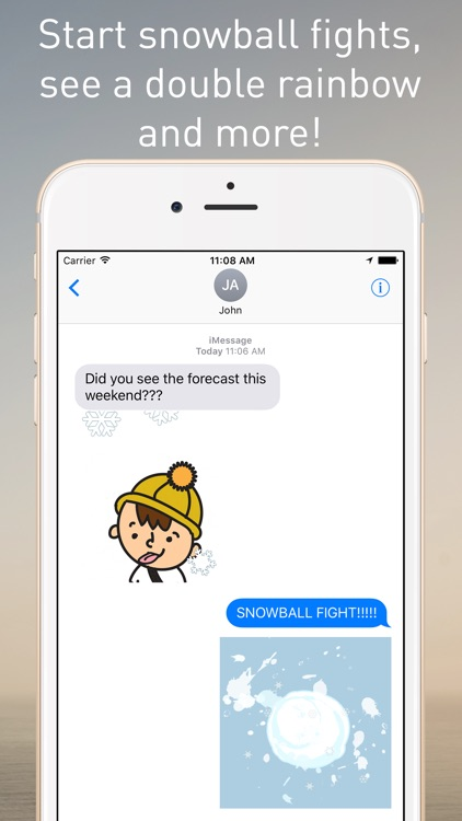 The Weather Network Stickers for iMessage