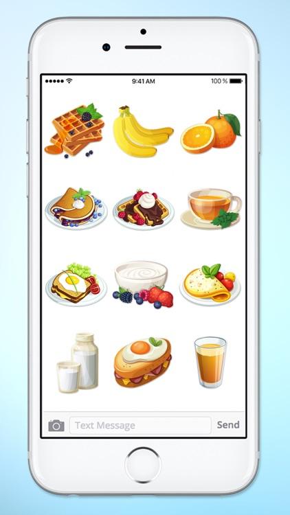 Breakfast and Brunch Food Sticker Pack screenshot-3