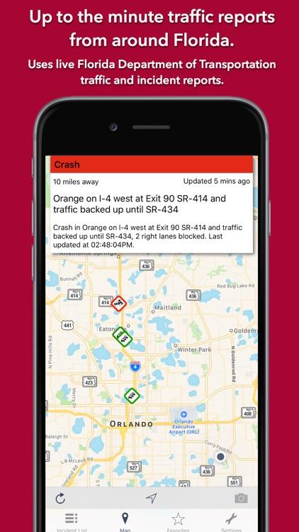 Florida Roads - Traffic Conditions & Cameras screenshot-0