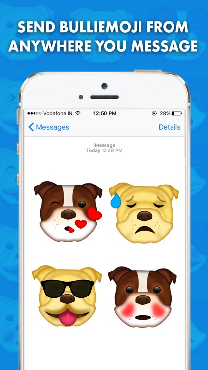 BullieMoji - Bulldog Emoji & Stickers screenshot-2
