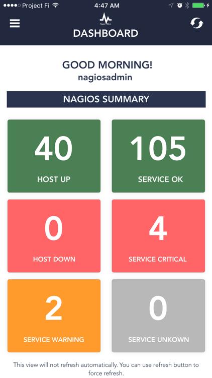 Server Alarms - Nagios Client – (iOS Apps) — AppAgg