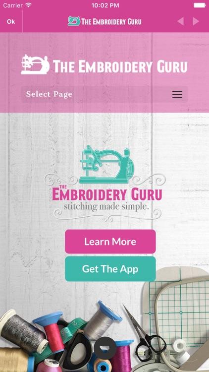 The Embroidery Guru