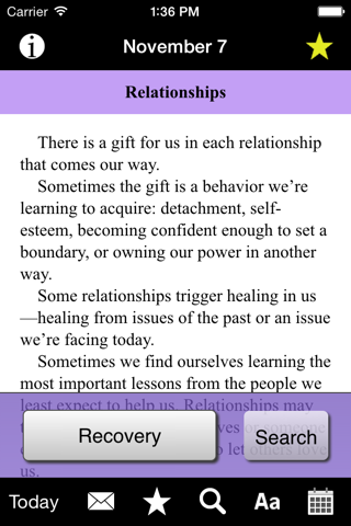 Language of Letting Go: Codependency Meditations screenshot 3