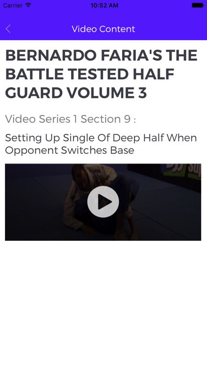 The Battle Tested Half Guard 3