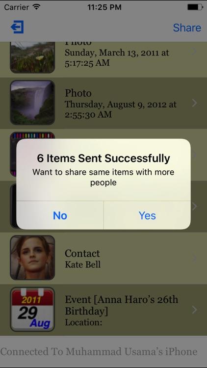 AllShare - Transfer via Wi-Fi & Bluetooth screenshot-3