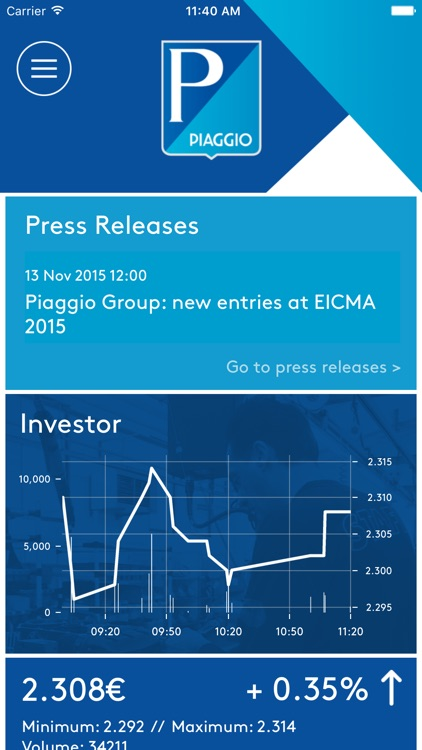 Piaggio Group Corporate App screenshot-0
