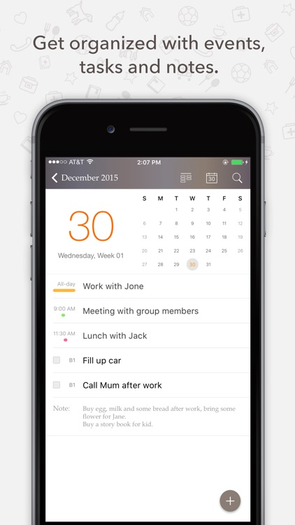 Planner Pro - Daily Calendar & Personal Organizer app image