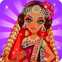 Indian Princess wedding Beauty Salon Dress Up Prom