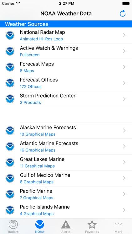 NOAA Weather Radar screenshot-4