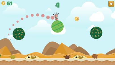 Jumping Desert Animal Challenge: Flipping for Fun! screenshot one