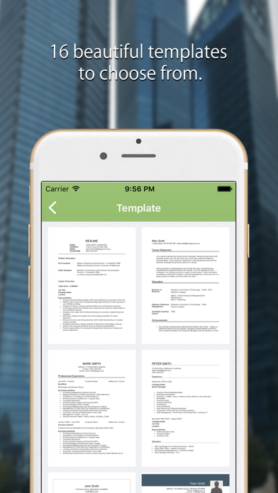 تحميل CV Writer: Professional Resume Designer & Builder للكمبيوتر
