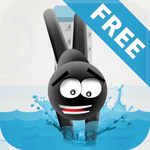 Stickman High Diving - Touch, Jump & Flip!