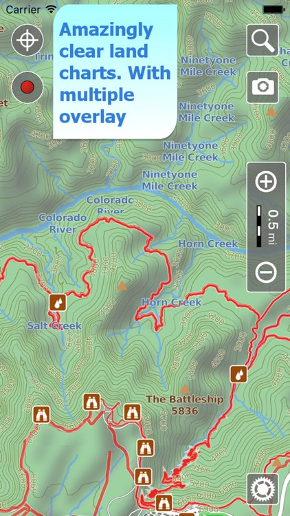 Trails of Grand Canyon NP - GPS Maps for Hiking