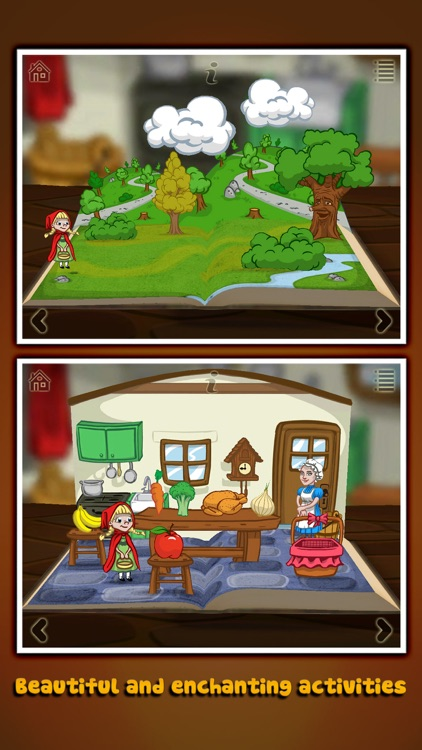 Grimm's Red Riding Hood ~ 3D Pop-up Book screenshot-0