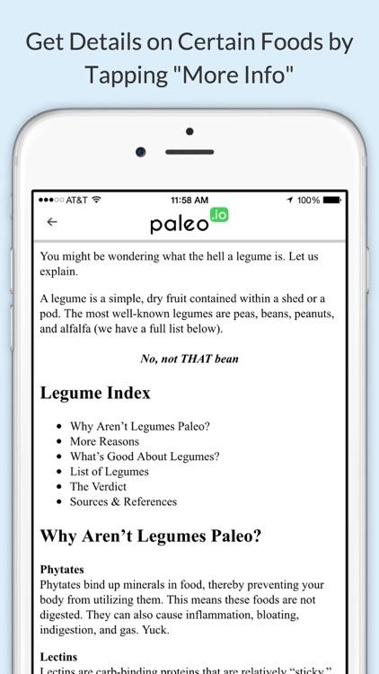 Paleo (io) screenshot-4
