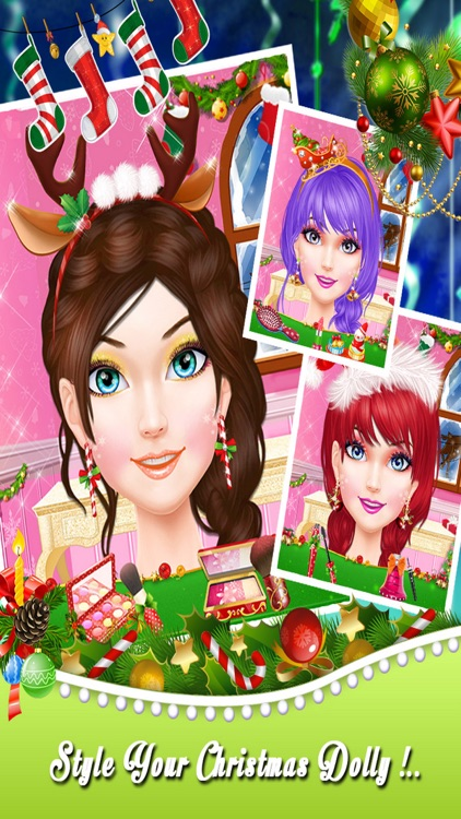 Dolly Christmas Salon Parlour screenshot-2
