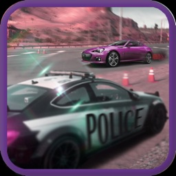 Police vs Gangster Thief. 3D Car Racing Game