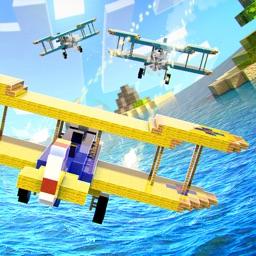 Airplane Craft War . Flight Combat Simulator