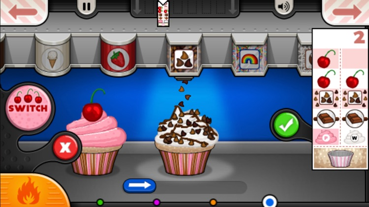 Papa's Cupcakeria To Go! screenshot-3