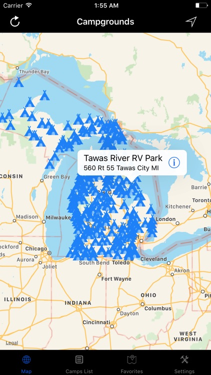 Michigan – Campgrounds & RV Parks