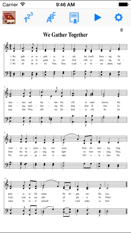 Hymnal SDA, screenshot-0