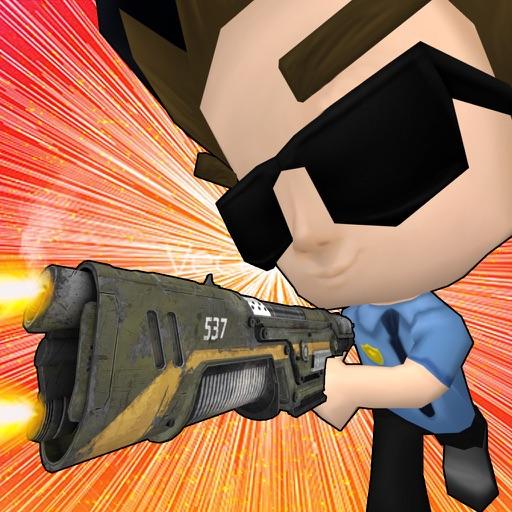 Police Lab Raid : Police Shooting Games for Kids