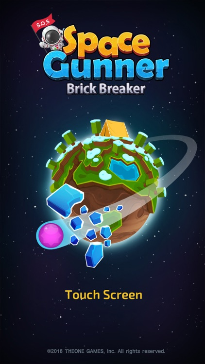 Space Gunner : Brick Breaker